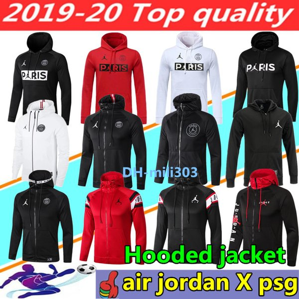 Acheter 19 20 Sweat À Capuche PSG Paris 2019 2020 Psg AIR Jordan Survêtement De Football Champion MBAPPE ICARDI CAVANI Hoodie Survetement 201920 Psg