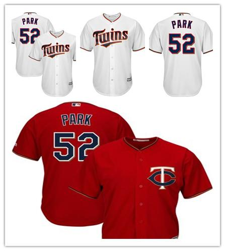 best authentic 07db4 53f90 2019 Men'S Twins 52 Byung Ho Park Majestic Scarlet Alternate Cool Base  Player Minnesota Women Kids Jersey From Lzytop009, $22.33 | DHgate.Com
