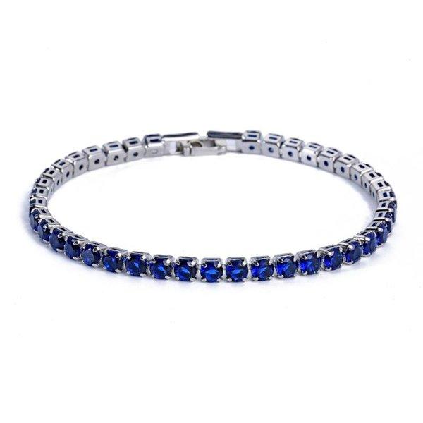 silber-blau 17cm Länge