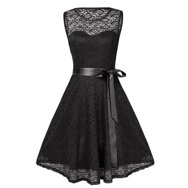 2019 Sexy V Lead Sleeveless Full Lace Will Pendulum Skirt 6766