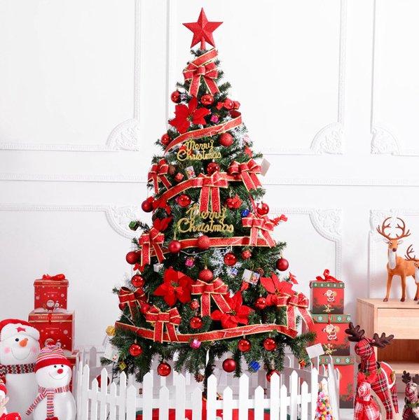 Foto Di Natale 2019.Acquista 2019 Nuovo Albero Di Natale 1 8 M Borsa Regalo Deluxe Con Accessori Grande Albero Di Natale Suit Hotel Mall Decorazioni La Casa A 33 17 Dal