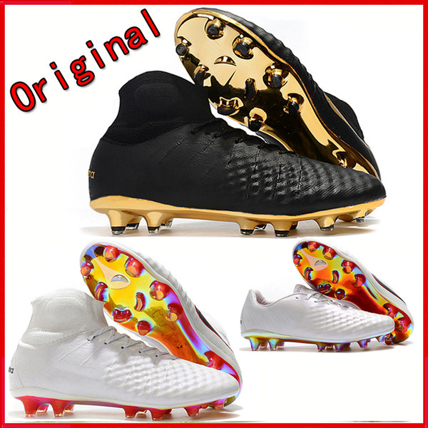 Original Men High Ankle Soccer shoes Magista Obra II Elite FG Football boots Superfly FG ACC Soccer cleats outdoor chaussures de football