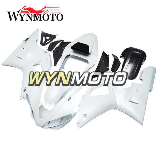 Nueva vMotorcycle carenados para Yamaha YZF 1000 R1 2000 2001 ABS inyección de plástico carenado moto yzf 1000 r1 cubre blanco perla
