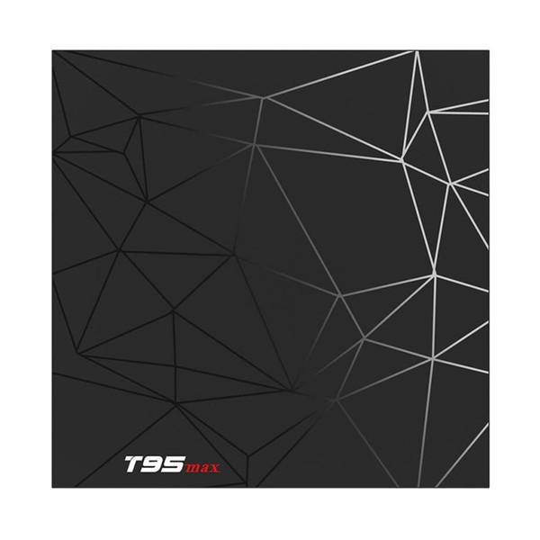 T95 MAX 6K Android 9.0 TV Box Allwinner H6 4GB 32GB 2.4GHz WiFi 100Mbps Ethernet H.265 Set Üstü Kutu