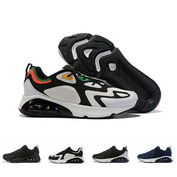New Arrival 2019 Men 200 Running Shoes Sports Designer Sneakers Fashion Mens Air Trainers Cushion Jogging Zapatos Scarpe Schuhe Size 12