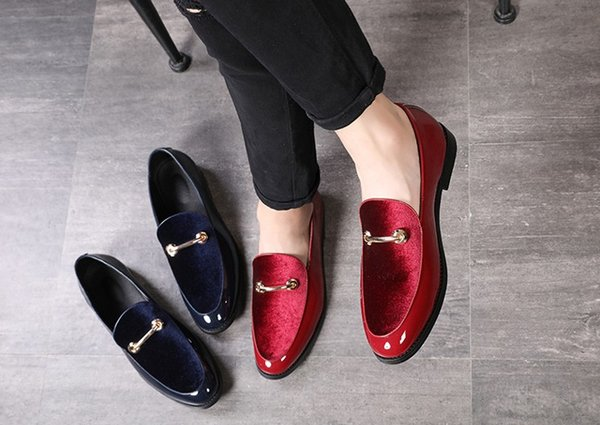 3A plus la taille mens chaussures casual luxe conduite adulte designer social mode robe robe fainéants 37-48