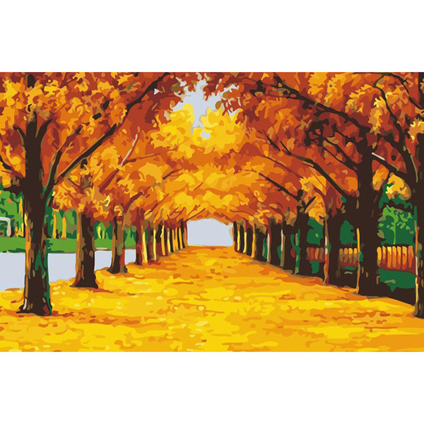 Foraway Diy Oil Painting By Number Kit For Adults and Kids Made In China Support Drop Shipping Free Shipping