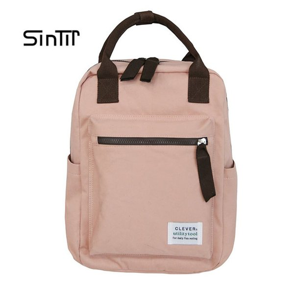Classic  Women Backpack Fashion Small School Bags For Teenager Girls High Quality Oxford Anti Theft Backpacks Black Bagpack