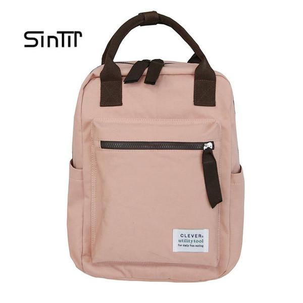 Klassische Marke Frauen Rucksack Mode Kleine Schultaschen Für Teenager Mädchen Hohe Qualität Oxford Diebstahl Rucksäcke Schwarz Bagpack