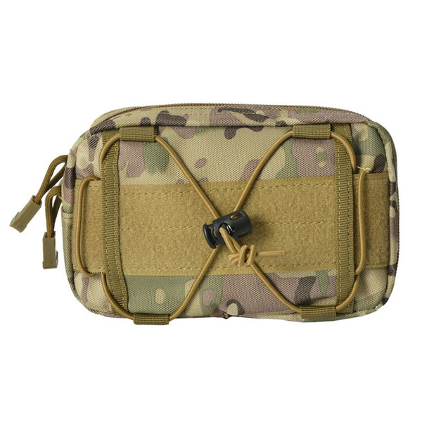 Tactical MOLLE Waist Bag Outdoor Utility Tools Multi Pockets Nylon Phone Pouch for Belt /Vest