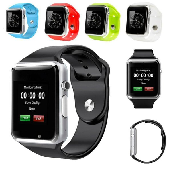 High Quality A1 Smart Watches Bluetooth Wearable smartwatch Men Women Smart Watch Mobile with Camera for Android Smart phone Smartwatch