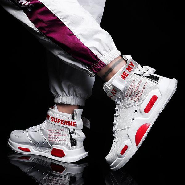 branco vermelho PU