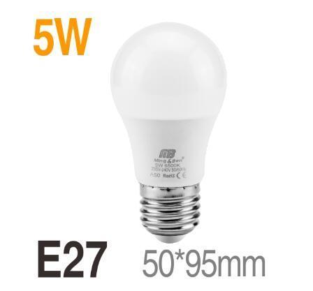 5w E27 220V