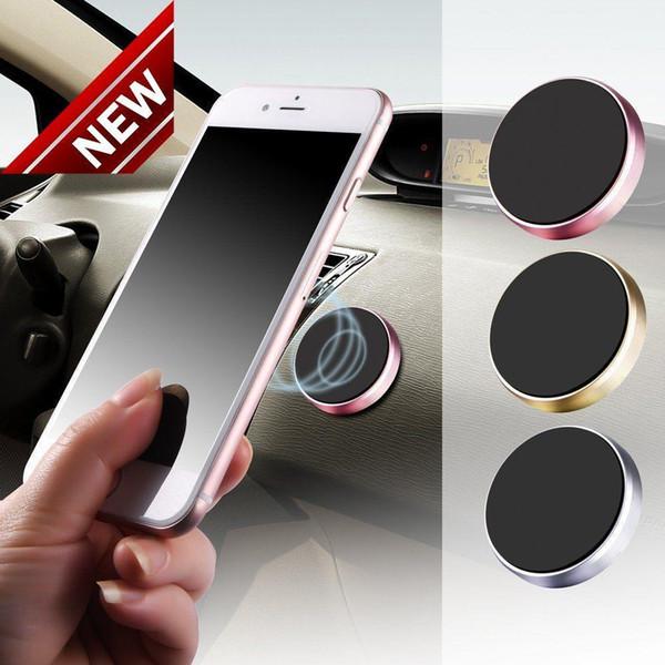 2018 Soporte universal del tablero de instrumentos del coche magnético del soporte de montaje para teléfono celular móvil GPS GA envío