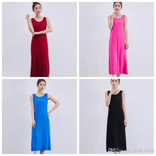 Women Sleeveless Basic School Dress Letter Print O-Neck Casual Girls Dress Casual Dresses fashion 5pcs S55