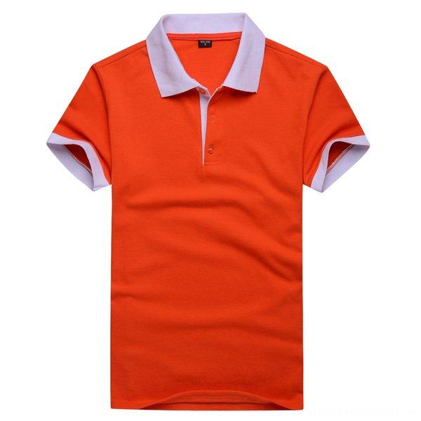 Arancione colletto bianco (senza tasca sul petto)