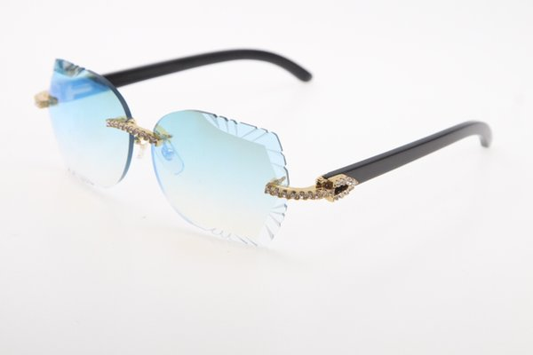 Altın Mavi ayna Lens