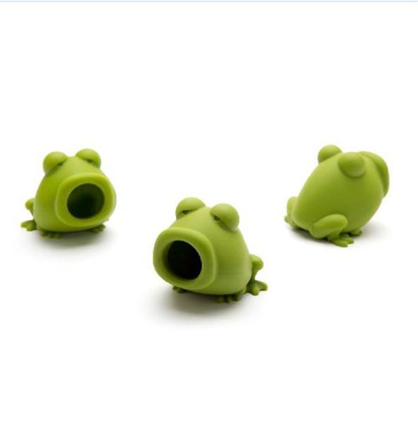 Popular Ovo Separador Animal Sapo Forma Silicone Cor Verde Ovos Divisores Fit Interior Mini Baking Ferramenta Portátil 5 5wd E1