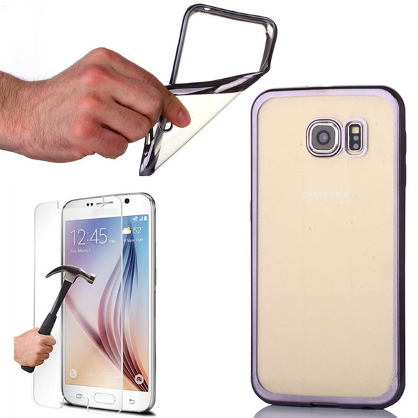 best selling Gpack gpac case for samsung for galaxy s7 0.3m laser silicone + glass ship from turkey HB-001349305