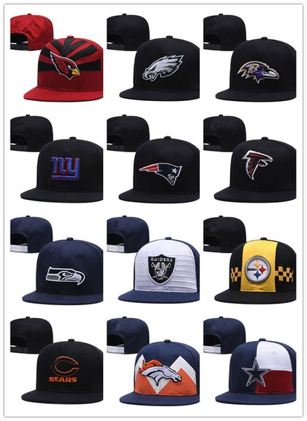 Hot sale new Men's Women's Basketball Snapback Baseball Snapbacks All Teams Football Hats Man Sports Flat Hat Hip-Hop Caps Thousands Styles