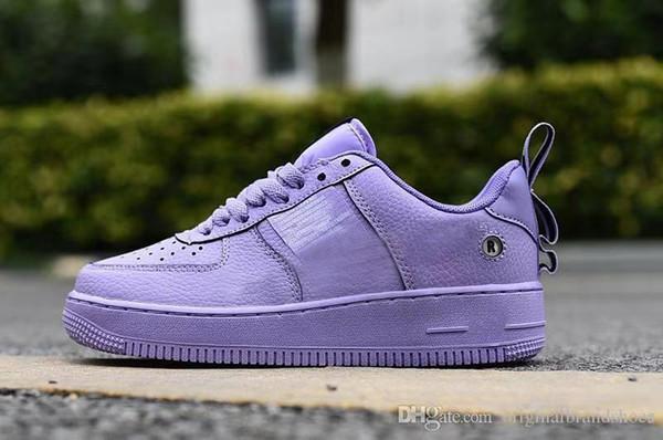 Con caja Just Do Mens Mujer Zapatillas de running Utilidad al aire libre Diseñador Monopatín FUERZAS One Dunk Purple Run Zapatillas deportivas Chaussures-aw26dawd