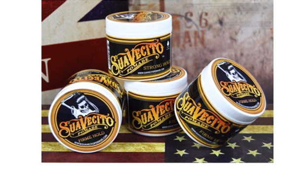 top popular Suavecito Pomade Gel 4oz 113g Strong Style Restoring Ancient Ways is Big Skeleton Hair Slicked Back Hair Oil Wax Mud 2021
