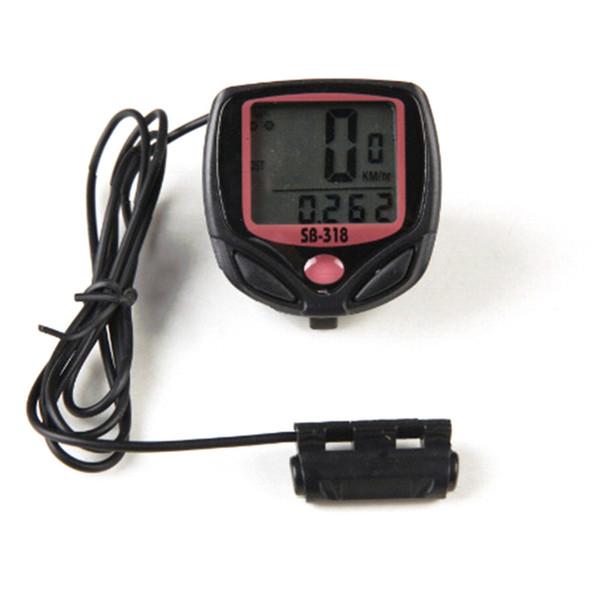 15 Function Waterproof LCD Bike Bicycle Odometer Speedometer Cycling Speed Meter Wireless Bicycle Computer #191285