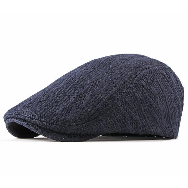 a3e9378fd 2019 New Fashion Women'S Men'S Newsboy Hat Knitting Nylon Beret Hats For  Men Autumn Winter Beret Jason Statham Fedora Hats For Women Hat Shop From  ...