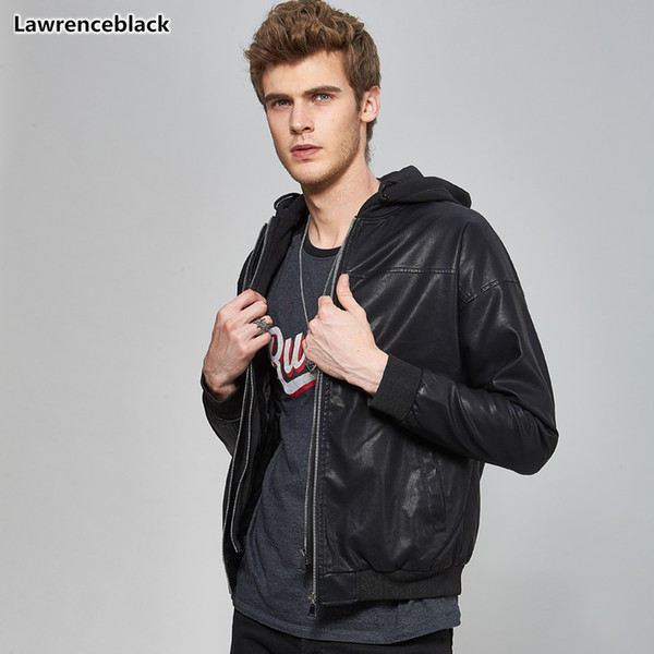 New men's winter leather jackets and coats 2018 high quality man fashion motorcycle Jacket stylish leather jackets for men 1591