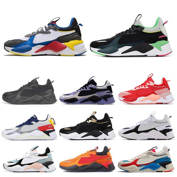 PUMA RS-X Toys Nouveau RS-X Hommes Chaussures De Course Reinvention Cool Noir Blanc Mode Creepers Papa Chaussures Hommes Femmes Coureur Entraîneur Baskets sport taille 36-45