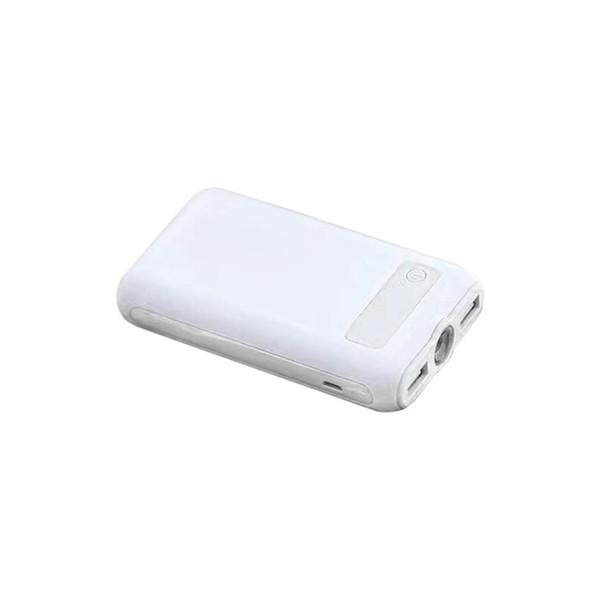 Digital Fashion Bank 4 Capacidade de Casa 60 Display de Energia Grande Carga USB Portátil Horas 1A 2 Saída Dupla 5 V Escritório Ao Ar Livre