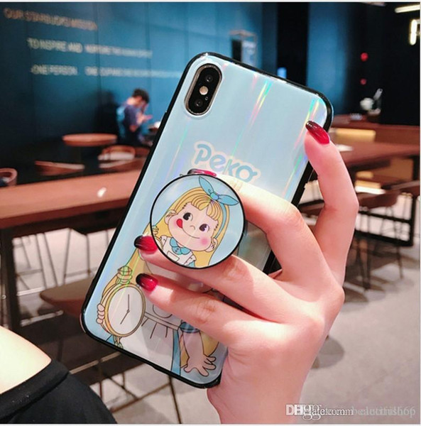 New pattern Cell Phone Cases Silica gel Phone Covers shockproof and waterproof case for iphone XS Max for iPhoneXs with Kickstand
