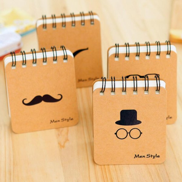 New Fashion Notebook Creative Cute Notepad Business Diary Office Student Funny Portable Notebook Free Shipping wholesale