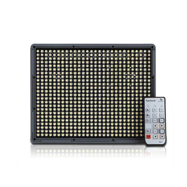 Amaran HR672W 2.4 GHz uzaktan kumanda LED Kamera Video Işığı CRI95 + 5500 K led video panelleri Parlaklık ışık