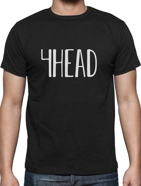 4Head Emote Laughing Guy Meme Gamers T-Shirt Streamcolour jersey Print t shirt
