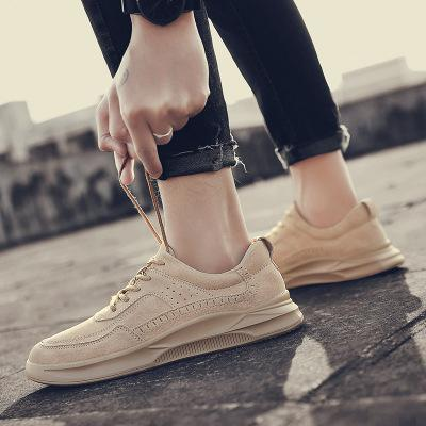 2019 neue Schuhe retro casual Student Schuhe Herrenschuhe Trend niedrige Hilfe England