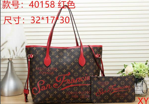Large and Medium Size Fashion women lady designer France paris style luxury handbag shopping bag totes 01