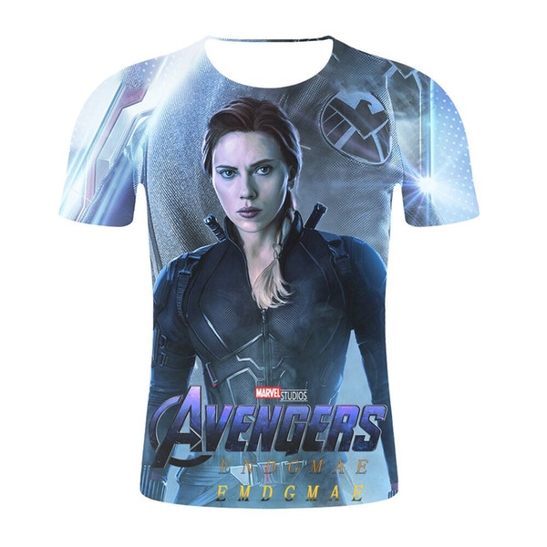2019 Marvel Movie Avengers Endgame 4 Newest Hot Fashion Funny 3d Print Tshirts Men Women Summer Casual Short Sleeve O-neck Hip Hop Q645