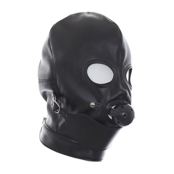 PVC Black Headgear 1