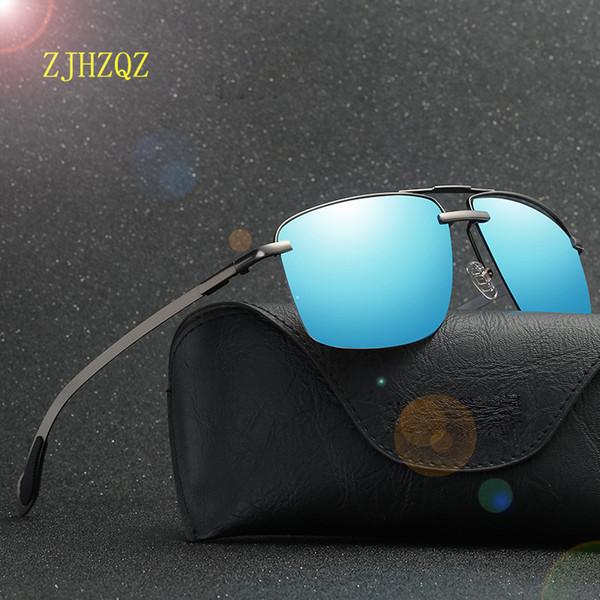 óculos de sol de designer mens óculos de grife mens óculos de sol das mulheres óculos de sol de luxo homens óculos de sol de vidro semi-Rimless óculos de sol