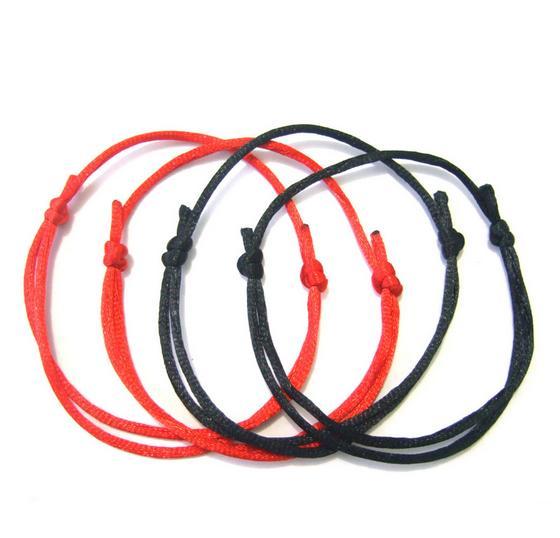 120Pcs RED LUCKY String Bracelet KABBALAH Against EVIL eye Charm Bracelets SUCCESS luck Jewelry Handmade Woven DIY Best Friends Friendship
