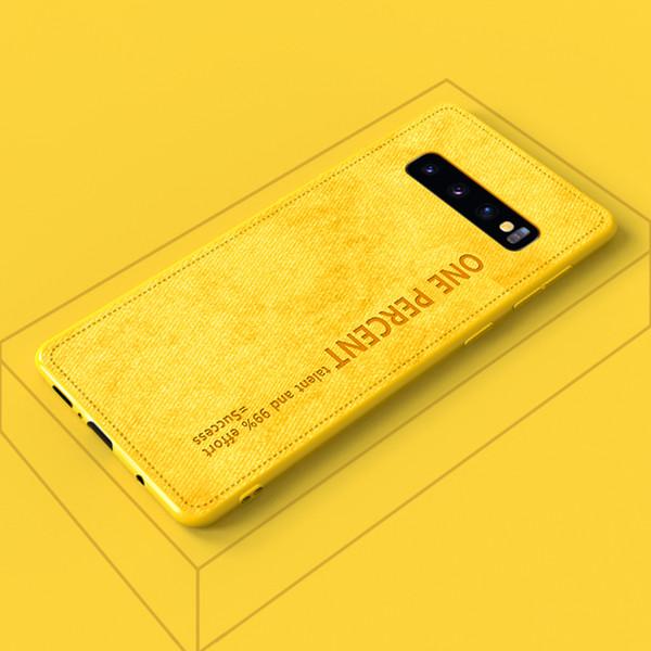 Coque Samsung S10 pour téléphone portable S10 plus légère tempérament rétro femelle 5G coréenne compacte en silicone douille à douille souple s9 +