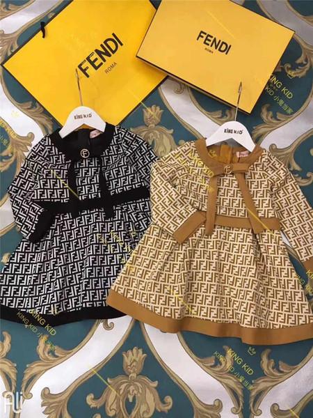 2019 nuovo vestito a maniche lunghe per bambini di alta qualità190721 # 001