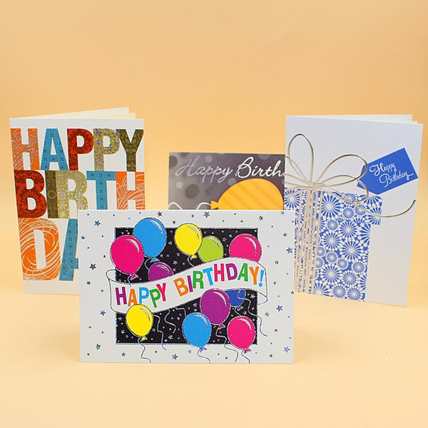 Leiso Brand Happy Birthday Theme Party Colorful Invitation Card Birthday Party Decoration Supplies Birthday Cards Online Birthday Cards Online Free