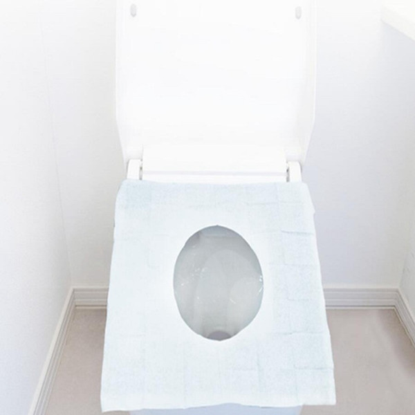 Disposable Toilet Seat Covers Waterproof Individually Wrapped Travel Toilet Seat Covers for Public Toilets Potty Training