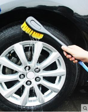 best selling Car wash mop car water brush spray car tire brush does not damage the wheel wheel brush details