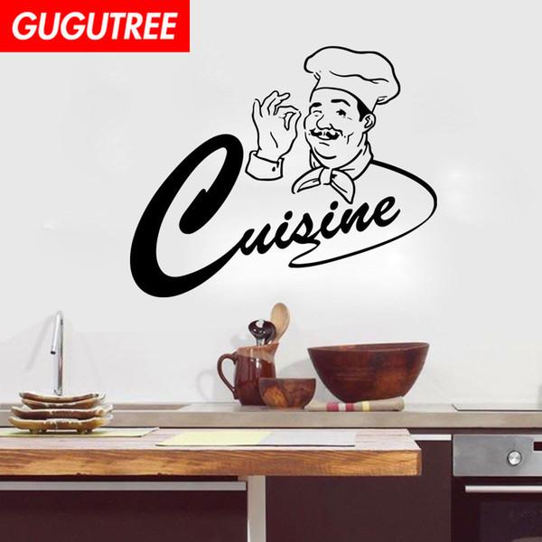 Acheter Décorer La Maison De Cuisine De Bande Dessinée Art Sticker Mural Décoration Stickers Peinture Murale Amovible Décor Papier Peint G 1879 De