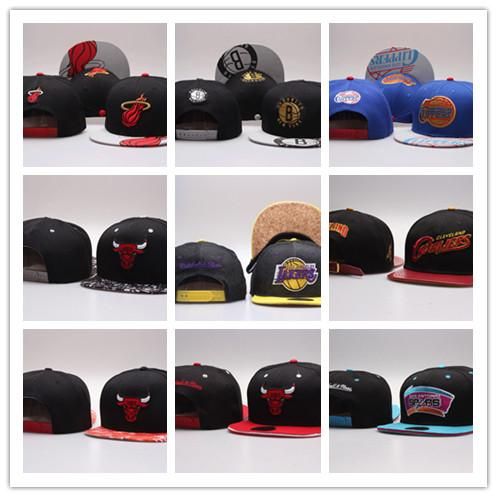 Envío libre 2019 el sombrero barato del más nuevo diseño, venta al por mayor, casquillos libres del baloncesto del envío, sombreros del fútbol de la universidad del Snapback, orden ajustable de la mezcla del casquillo