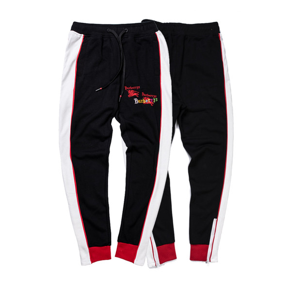 Luxury Mens Sweatpants with Letters Long Brand Designer Track Pants for Men Joggers Animal Braned Drawstring Pant Clothing M-2XL