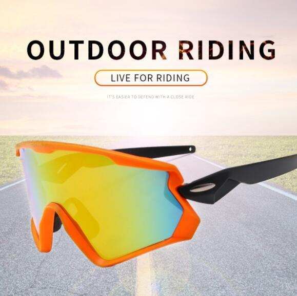 Occhiali da sole antivento da uomo in bicicletta occhiali sportivi abbagliamento 9315 soft nose bracket mens occhiali da sole da equitazione outdoor